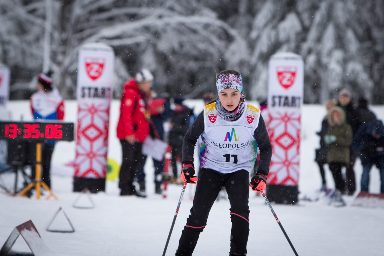 Cross Country Tatra Cup - III miejsce Kingi Baran