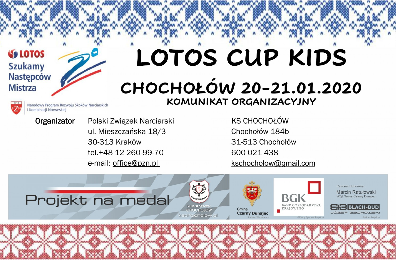 Lotos Cup Kids 20-21.01.2020