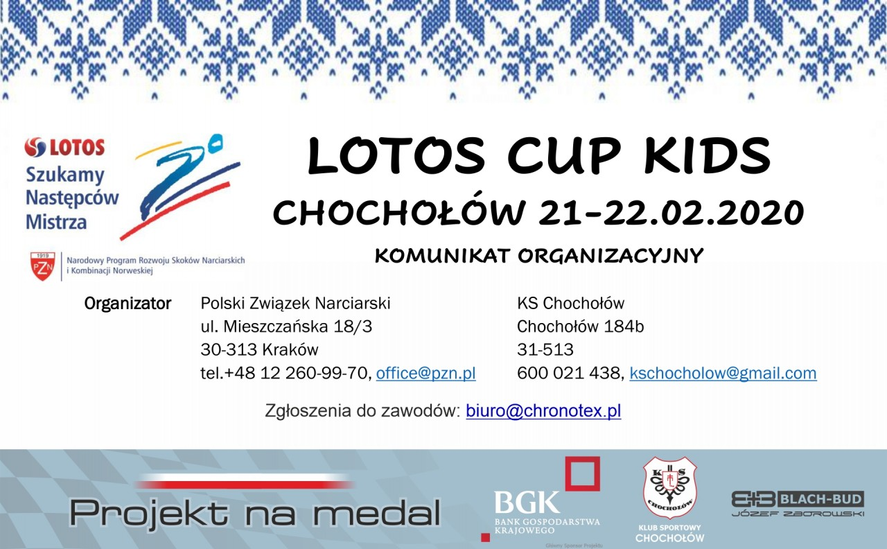 Lotos Cup Kids 21-22.02.2020